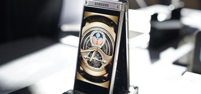 Samsung W2018 is (duur) klaptoestel met twee schermen