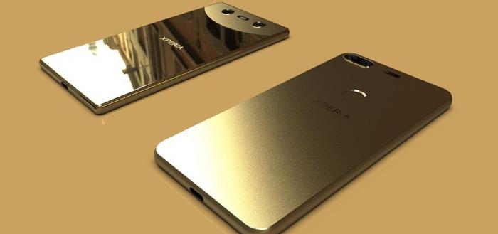 Wordt dit het nieuwe Sony Xperia design voor 2018? (foto's)