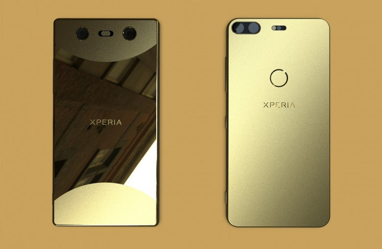 Sony Xperia 2018 design render