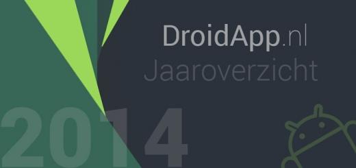 DroidApp jaaroverzicht 2014 header