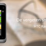 De vergeten smartphone: HTC Radar