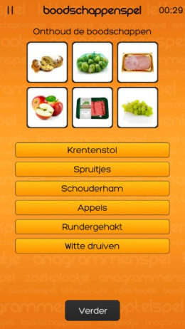 MAX Geheugentrainer app
