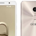Alcatel 3C foto's nu ook opgedoken: toestel met 6,0 inch display