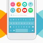 Fleksy Keyboard laat je heel handig, standaard huidskleur voor emoji kiezen