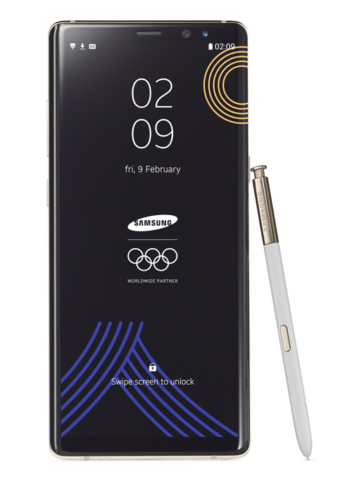 Samsung Galaxy Note 8 Olympic Games Edition