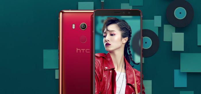 HTC U11 EYEs aangekondigd: 6,0 inch display en knijpbare schermranden