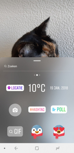 Instagram Gif stickers