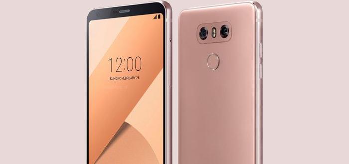 LG presenteert roze versie van LG G6: zo ziet 'ie eruit