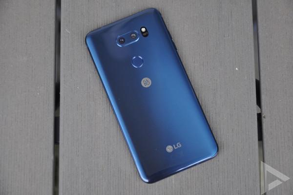 LG V40 vijf camera's