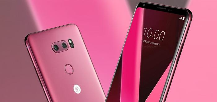 LG kondigt LG V30 aan in nieuwe kleur 'Raspberry Rose'