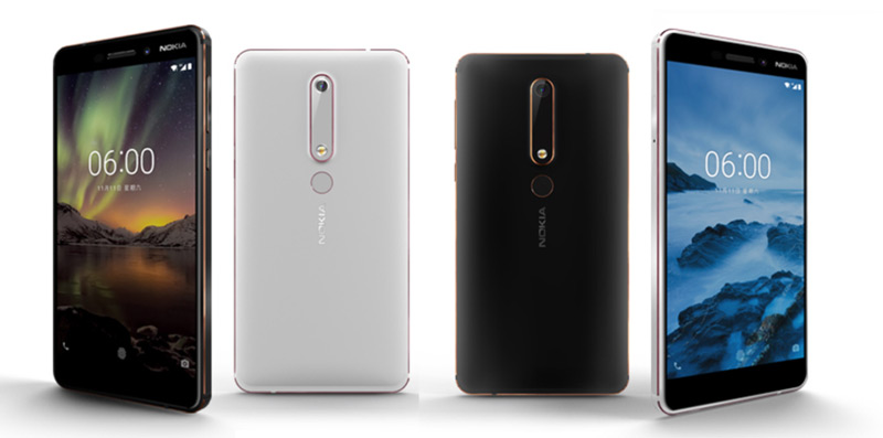 Nokia 6 (2018) foto
