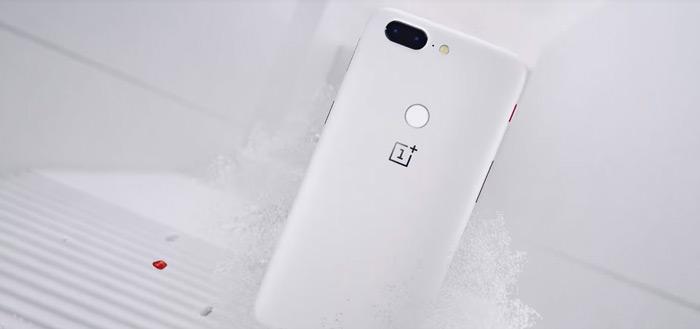 OnePlus 5T komt in nieuwe, gelimiteerde kleur: Sandstone White