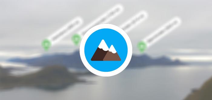 PeakLens: ontdek de bergen en bergtoppen met handige app