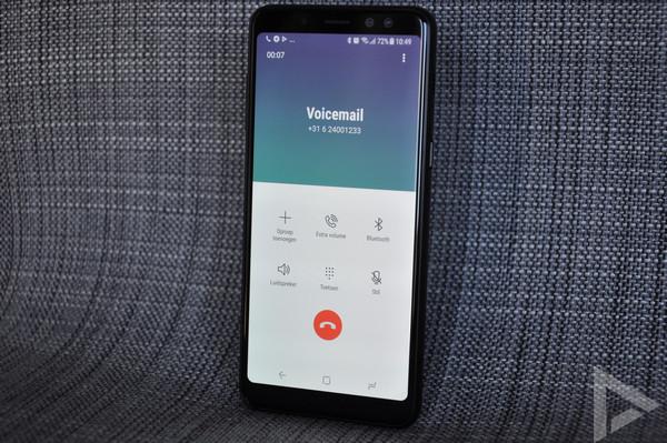 Samsung Galaxy A8 2018 bellen