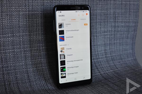Samsung Galaxy A8 2018 galerij