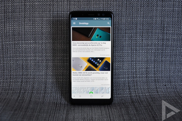 Samsung Galaxy A8 2018 Droidapp