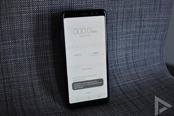 Samsung Galaxy A8 2018 fm-radio