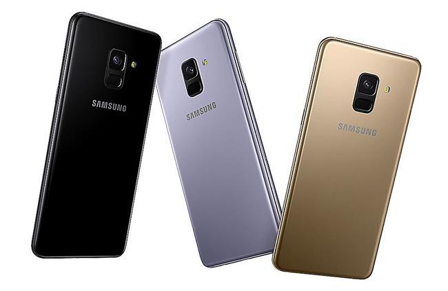 Samsung Galaxy A8 2018 achter
