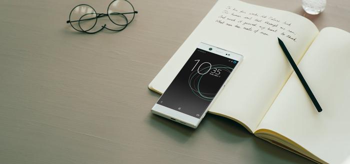 Sony Xperia XA2 Ultra duikt op met dual-selfie camera en vingerafdrukscanner achter