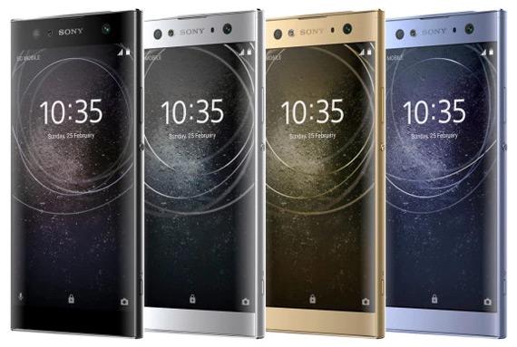 Sony Xperia XA2 Ultra range