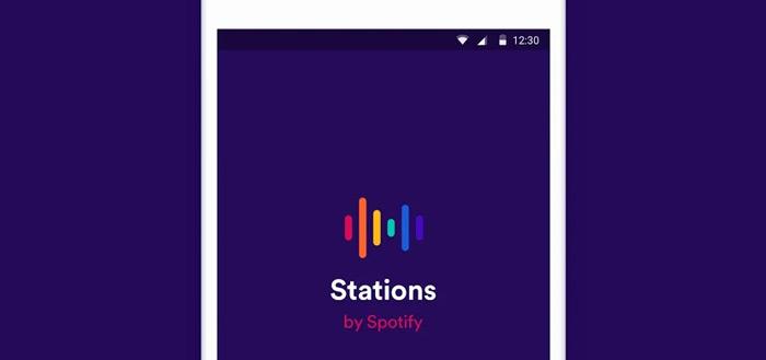 Spotify Stations app laat je gratis luisteren naar muziekstations (APK)