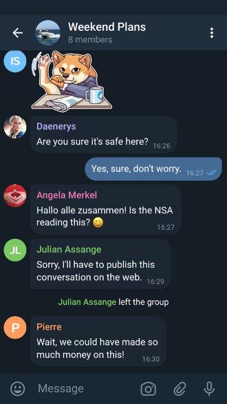 Telegram X app