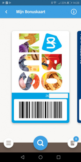 Appie app bonuskaart
