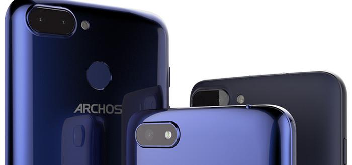 Archos introduceert Core 55S, 57S en 60S met 18:9 display en lage prijs