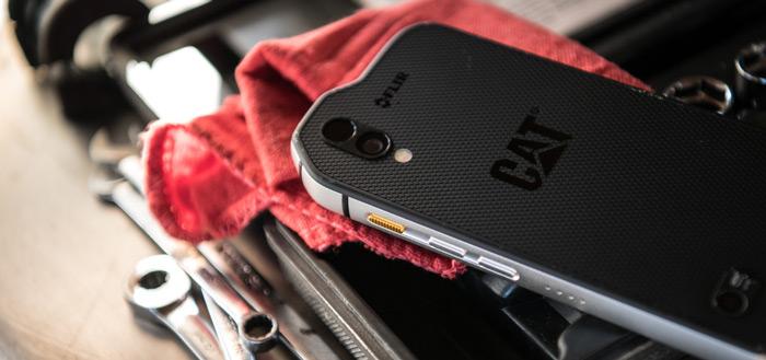 Robuuste Cat S61 krijgt luchtkwaliteitmeter, meettechnologie én Android P