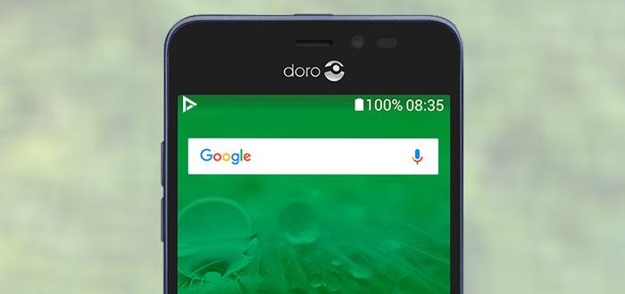 Doro 8035 aangekondigd: nieuwe smartphone voor senioren