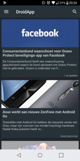 DroidApp App 2.2.0