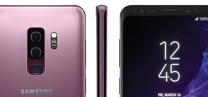 Hele duidelijke foto's Galaxy S9 en S9+ opgedoken in kleur Lilac Purple