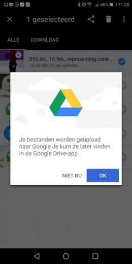 Google Files Go Drive
