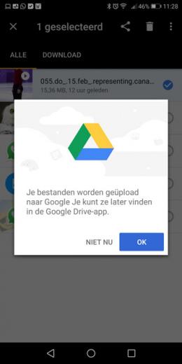Google Files Go Drive