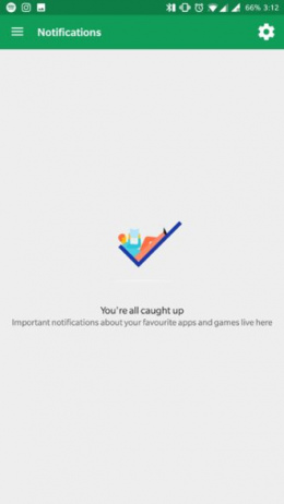 Google Play Store mijn notificaties