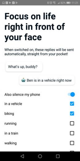 Google Reply