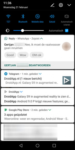 Google Reply WhatsApp