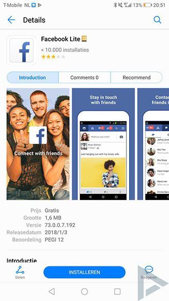 Huawei lanceert eigen app store AppGallery voor apps en