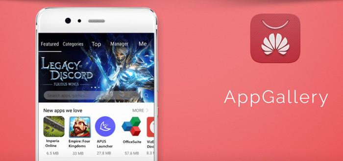 Huawei AppGallery: eigen app store komt naar alle toestellen