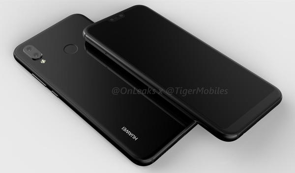 Huawei P20 Lite render