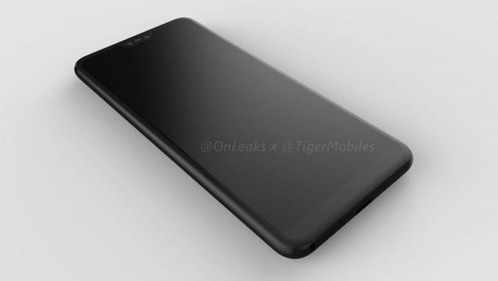 Huawei P20 Plus render