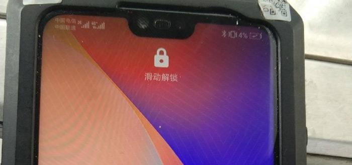 Huawei P20 Plus laat zich zien in eerste foto's: lijkt op iPhone X