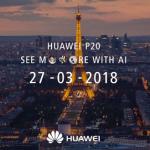 Huawei P20 Pro duikt op in Hypercolor, ook wallpapers beschikbaar