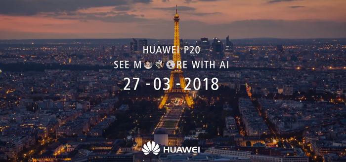 Huawei P20: naam en triple-camera bevestigd, ook nieuwe foto voorkant