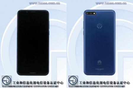 Huawei Y3 Y5 2018 TENAA