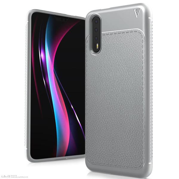 Huawei P20 case render