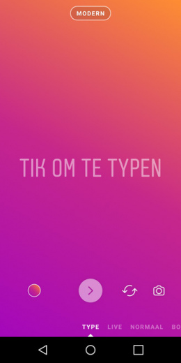 Instagram Tekst Stories
