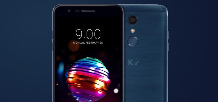LG presenteert 2018-uitvoeringen van de LG K8 en K10