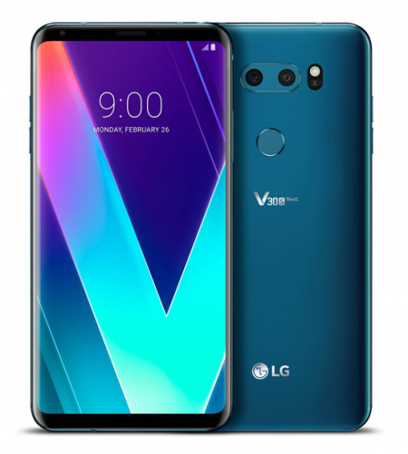 LG V30S ThinQ New Moroccan Blue