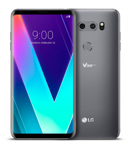 LG V30S ThinQ New Platinum Grey
